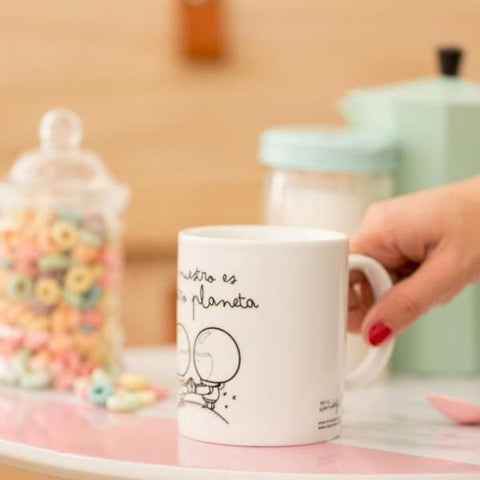 "Taza ""Lo nuestro es de otro planeta"" Mr. Wonderful MR.WONDERFUL- Depto51"