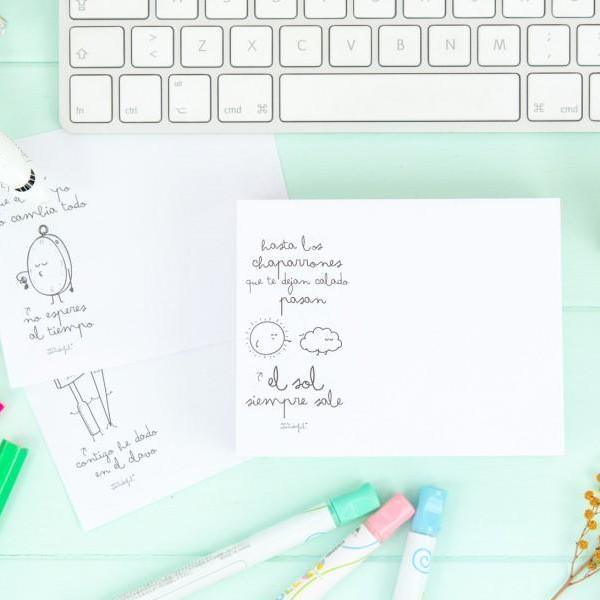 Block de notas con wonderconsejos Mr. Wonderful