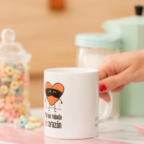 "Taza ""Me has robado el corazón"" Mr. Wonderful MR.WONDERFUL- Depto51"