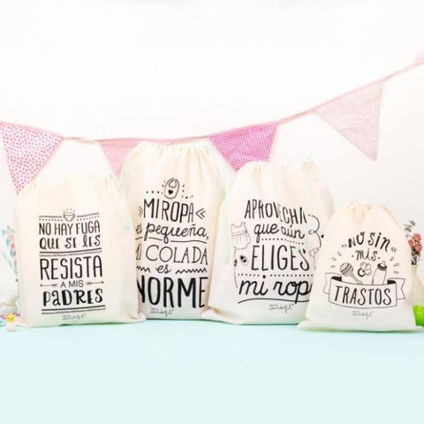 Set de 4 Bolsas de viaje para pequeños aventureros Mr. Wonderful MR.WONDERFUL- Depto51