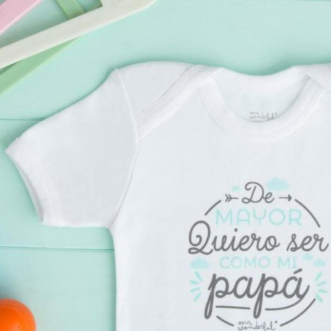 "Body ""De mayor quiero ser como mi papá"" Mr. Wonderful"