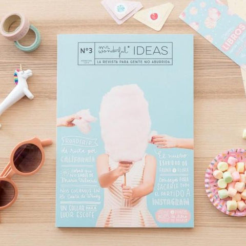 Revista Nº3 Mr. Wonderful Ideas Mr. Wonderful