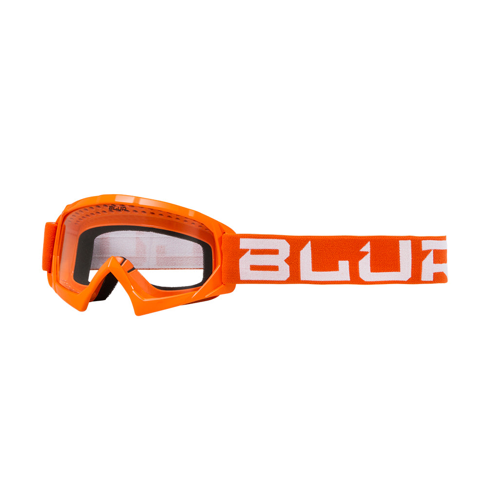 BLUR B-10 Youth | Orange/White