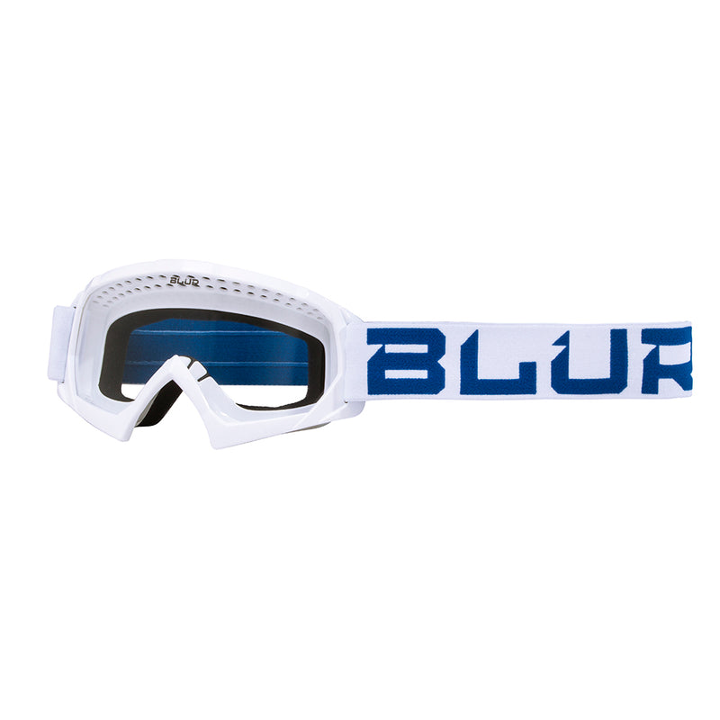 BLUR B-10 Youth | White/Blue