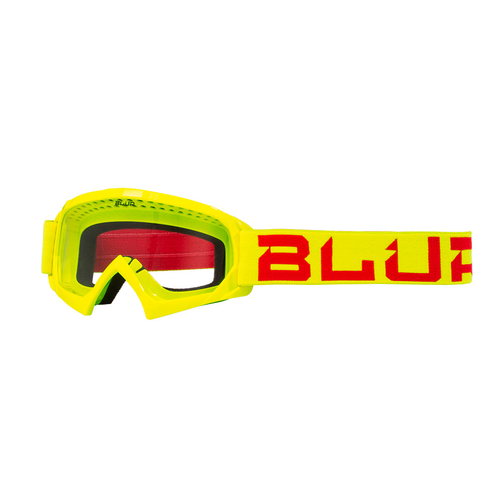 BLUR B-10 Youth | Hi-Viz/Red