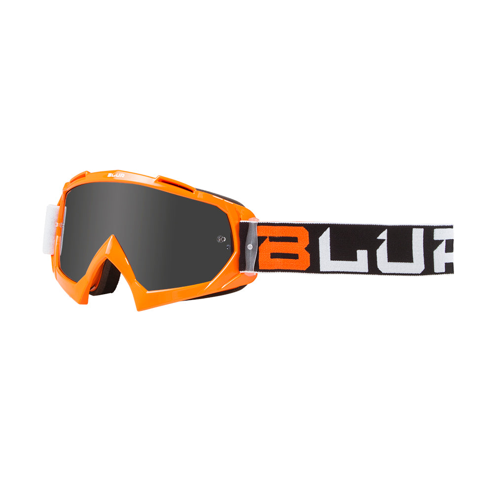 BLUR B-10 | Black/White/Orange