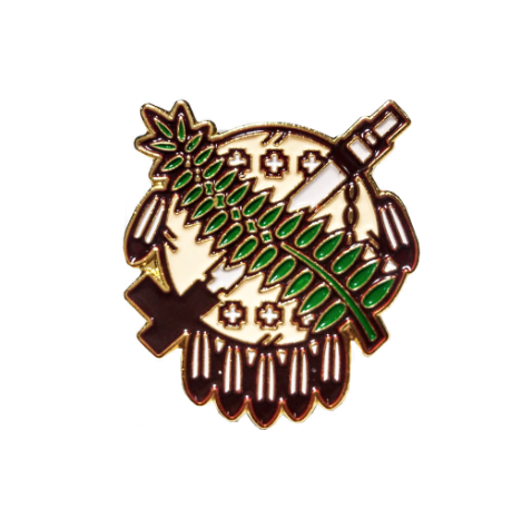 Oklahoma Shield Lapel Pin