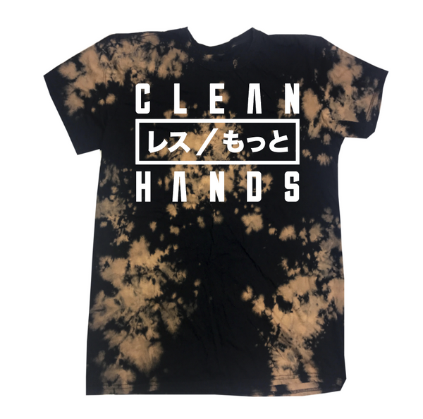 Less / More Bleach Dye Tee