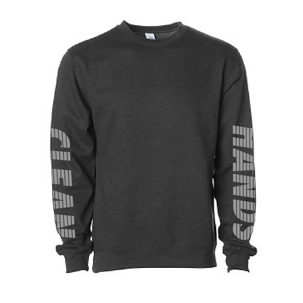 Retro Sleeves Crewneck