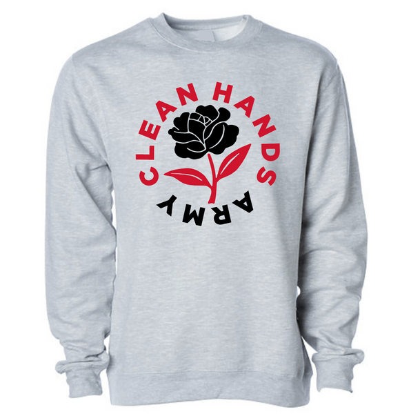 Black Rose Crewneck