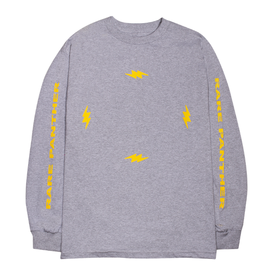 HEATHER GREY RP© FOUR BOLTS L/S TEE