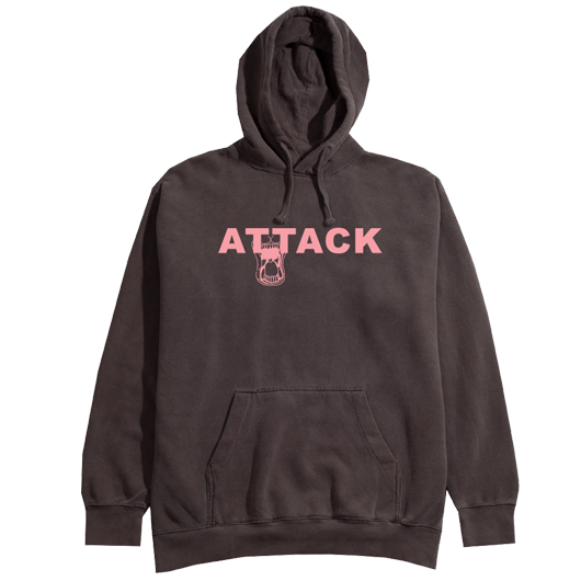 RP© ATTACK HOODY BROWN