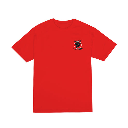 RED RP© PUBLIC ENEMY LOGO TEE