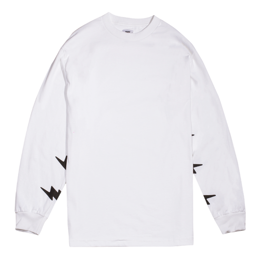 WHITE RP© SLEEVE BOLTS L/S TEE