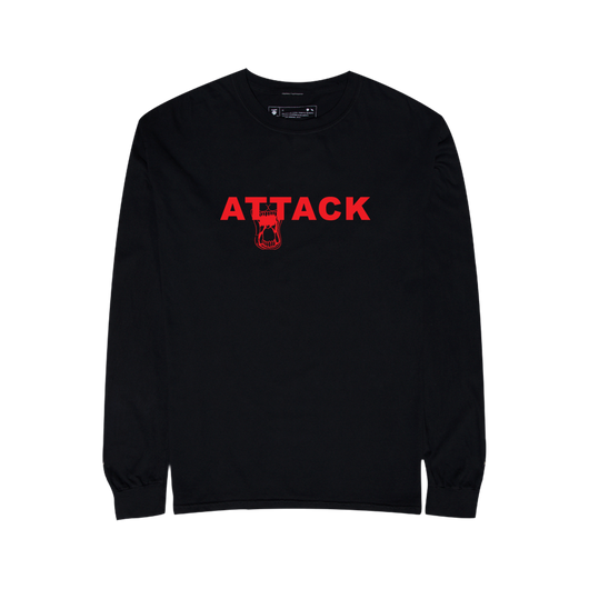 RP© ATTACK L/S TEE BLACK