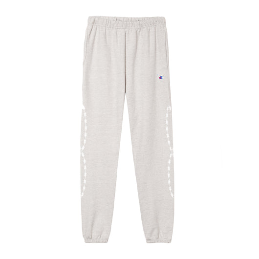 HEATHER RP© BOLT WIRE REVERSE WEAVE CHAMPION SWEATS