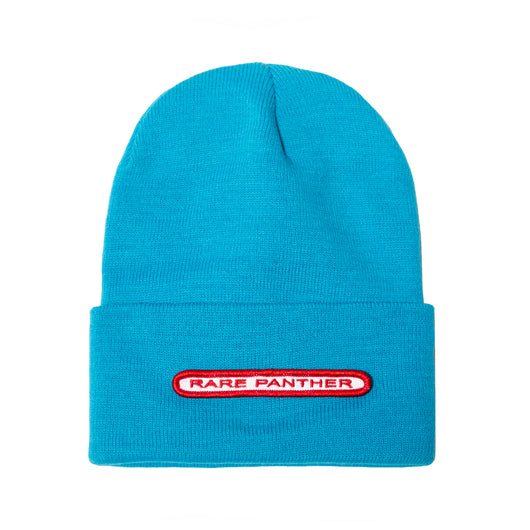 BLUE RP© PANTHER BUBBLE PATCH BEANIE