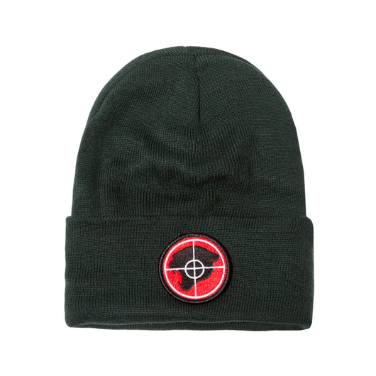 GREEN RP© PUBLIC ENEMY PANTHER BEANIE