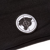 BLACK RP© PUBLIC ENEMY PANTHER BEANIE
