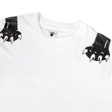 WHITE RP© PANTHER PAWS TEE