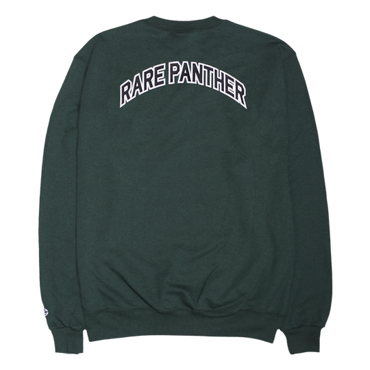 GREEN RP© RARE PANTHER CHAMPION CREWNECK