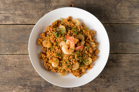 Thursday: Chorizo & Shrimp Jambamaya