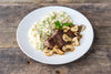Wednesday: Pan Seared Bavette with Truffle Risotto