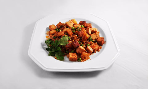 WEDNESDAY June 7: Cauliflower Rice stir-fry with Pineapple and local Tofu