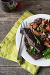 Wednesday: Tri-Tip Bourguignon With Veggies Over Egg Noodles