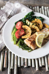 Tuesday: Pacific Cod, Glazed Delicata, Sauteed Sea Beans & Tatsoi
