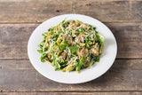 Thursday: Chicken, Sauteed Arugula & Spinach Pasta With Basil Pesto