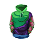 Ripped Piccolo Outfit Hoodie