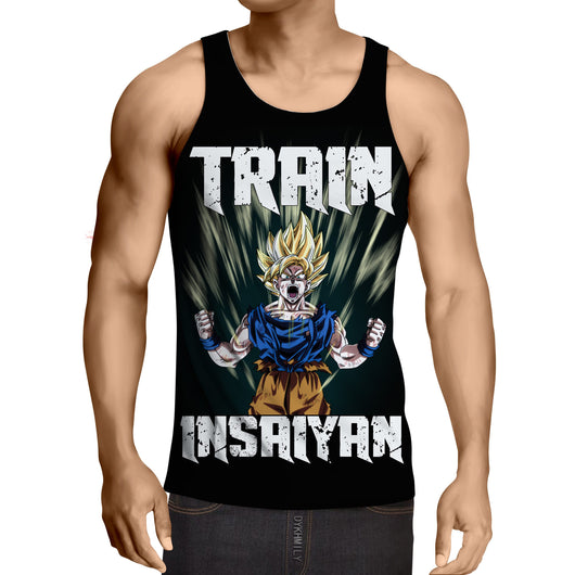SSJ Goku - Train Insaiyan Tanktop