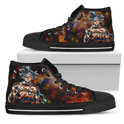 (DBMerch) Ultra Instinct Goku High Top Shoes
