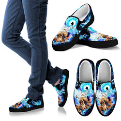 Ultra Instinct Goku Art Slip On Shoes