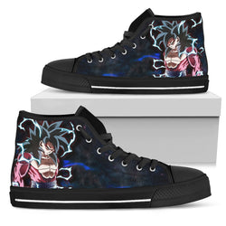 (DBMerch) SSJ4 Goku High Top Shoes