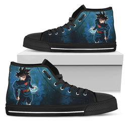 (DBMerch) Grand Priest Goku High Top Shoes