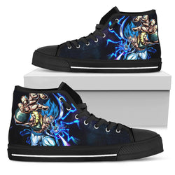 (DBMerch) SSB Gogeta Legends High Top Shoes