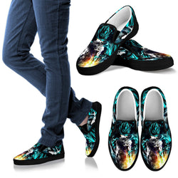 SSGSS Goku / Vegeta Slip On Shoes
