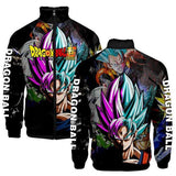 SSJ Blue Goku & SSR Goku Black  Jacket