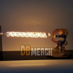 Super Saiyan Vegeta Final Flash LED Light Figure