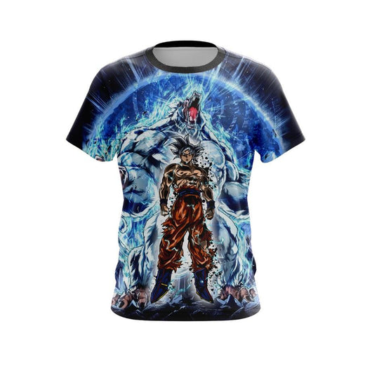 (DBMerch) Ultra Instinct Oozaru Goku T-Shirt