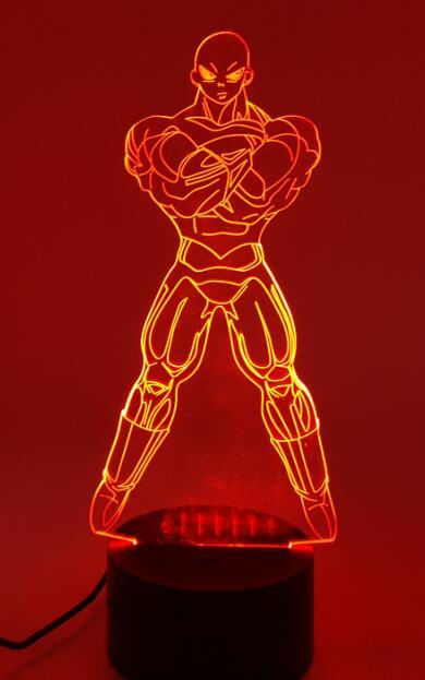 3D Jiren LED Table Light