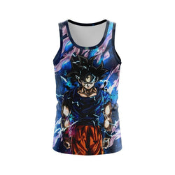 (DBMerch) Ultra Instinct Goku Tanktop