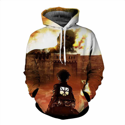 Attack on Titan Wall Hoodie