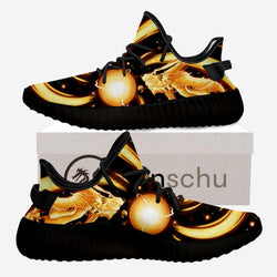 Nine-Tailed Naruto Chakra Mode Shoes
