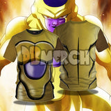 (DBMerch) Golden Frieza Armor T-Shirt