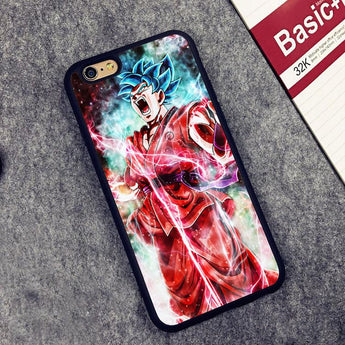 SSGSS Kaioken Goku Protective Phone Case (iPhone)
