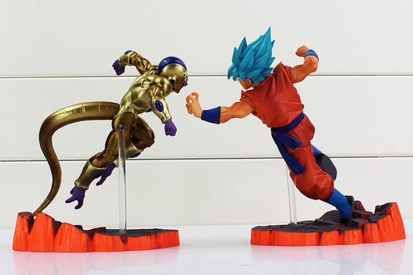 SSGSS Goku & Golden Frieza Collectors Figures