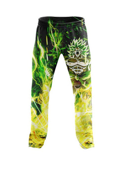 (DBMerch) Full Power Broly Joggers